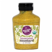 9-oz. Natural Value Organic HORSERADISH Mustard / 12-ct. case - 12