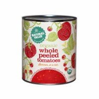 102-oz. Natural Value Food Service Size Organic WHOLE PEELED Tomatoes / 6-ct. case