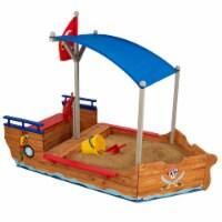 KidKraft Children's Pirate Sandbox