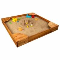 KidKraft Backyard Children's Sandbox - Honey