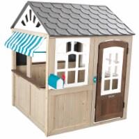 KidKraft Hillcrest Wooden Outdoor Playhouse