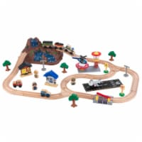 "KidKraft Bucket Top Mountain Train Set - 34.5"" x 23.75"" x 5"""