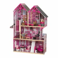 "KidKraft Bella Dollhouse - 37"" x 12.7"" x 49"""