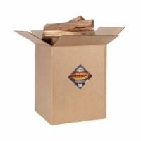 Smoak Firewood 16 Inch Logs Kiln Dried Premium Oak Firewood with Firestarter - 1 Unit