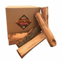 Smoak Firewood Kiln Dried Cooking Grade 16 Inch Wood Logs, Hickory, 60-70 lbs - 1 Piece