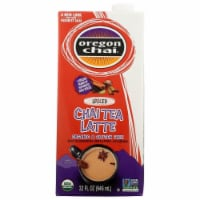 Oregon Chai Organic Chai Tea Latte Spiced - Case of 6 - 32 FZ - 32 FZ
