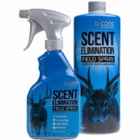 Code Blue Scents OA1311 Cod Blue 12 oz Field Spray and 32 oz Refill - 1