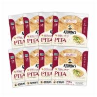 Pita with Whole Grain Flatbread Case
