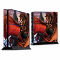 MightySkins SOPS4-Dragon Reign Skin for Sony PS4 Console - Dragon Reign - 1