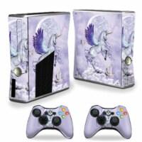 MightySkins XBOX360S-Unicorn Utopia Skin for Xbox 360 S Console, Unicorn Utopia - 1