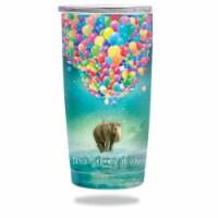 MightySkins YERAM20-Elephant Balloons Skin for Yeti 20 oz Tumbler - Elephant Balloons