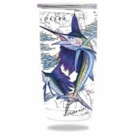 MightySkins YERAM20-Florida Sailfish Skin for Yeti 20 oz Tumbler - Florida Sailfish - 1