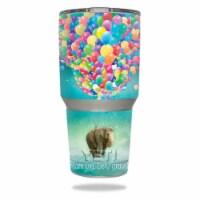 MightySkins YERAM30-Elephant Balloons Skin for 30 oz Yeti Tumbler, Elephant Balloons