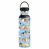 MightySkins HFST21-Puppy Party Skin for Hydro Flask 21 oz Standard Mouth - Puppy Party - 1