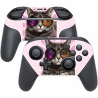 MightySkins NISWPCOI-Galaxy Cat Skin for Nintendo Switch Pro Controller, Galaxy Cat - 1
