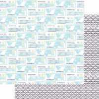 Plane Fun Double-Sided Cardstock 12 X12 -Boarding Pass - 1