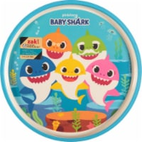 Zak! Baby Shark Melamine Plate - Blue - 1 ct / 8 in