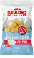 Boulder Canyon Spicy Ranch Protein Puff Snacks - 5 oz