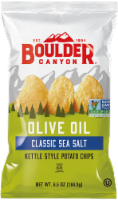 Boulder Canyon Olive Oil Classic Sea Salt Kettle Style Potato Chips