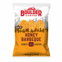Boulder Canyon Honey Bar-B-Que Canyon Cut Kettle Cooked Potato Chips