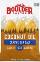 Boulder Canyon Coconut Oil Sea Salt Kettle Cooked Potato Chips