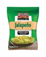 Boulder Canyon Jalapeno Kettle Cooked Potato Chips 2 oz. Pegged - Case Of: 8; - 1