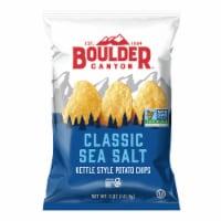 Boulder Canyon Sea Salt Kettle Chips - 5 oz