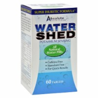 Absolute Nutrition - WaterShed - 60 Tablets - Case of 1 - 60 CT each