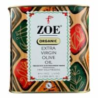 Zoe Organic Extra Virgin Olive Oil - Case of 4 - 88 FZ - Case of 4 - 88 FZ each