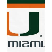 Mayflower 37709 20 Count University of Miami Lunch Napkin