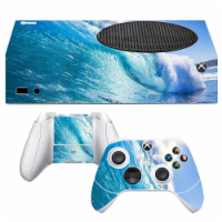 VWAQ Ocean Xbox One S Skins For Xbox Series S Console and Controllers - XSRSS9 - 1