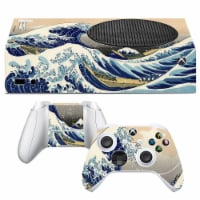 VWAQ The Great Wave off Kanagawa Xbox One S Skin Console and Controllers - XSRSS8 - 1