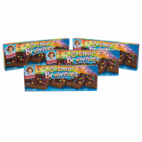Cosmic Brownies, 4 Boxes, 24 Individually Wrapped Brownies With a Candy Coating - 24