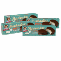 Chocolate Marshmallow Pies, 4 Boxes, 32 Individually Wrapped Chocolate Creme Pies - 32
