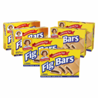 Little Debbie Fig Bars, 6 Boxes, 48 Individually Wrapped Chewy Cookies with Real Fig Filling - 48