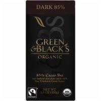 Green & Black's Organic 85% Cacao Dark Chocolate Bar - 3.5 oz