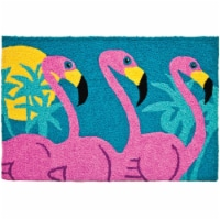 Jellybean JB-AVH008 20 x 30 in. Tropical Flamingos Rug
