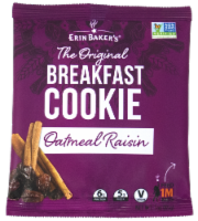 Erin Baker's The Original Oatmeal Raisin Breakfast Cookie