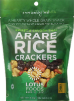 Lotus Foods Sweet & Savory Thai Arare Rice Crackers