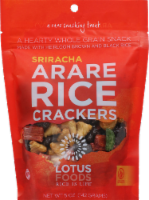 Lotus Sriracha Arare Rice Crackers