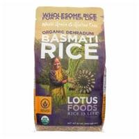 Lotus Foods Organic Rice - Brown Basmati - Case of 6 - 30 oz