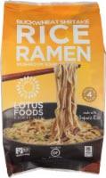 Lotus Foods Buckwheat Mushroom Rice Ramen
