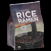 Lotus Foods Organic Forbidden Black Rice Ramen Noddles