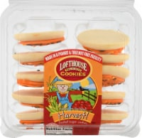 Lofthouse Harvest Orange Frosted Sugar Cookies - 10 ct / 13.5 oz