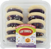 Lofthouse Boo Purple Frosted Sugar Cookies 10 Count - 15 oz