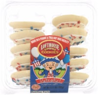 Lofthouse Patriotic White Frosted Sugar Cookies