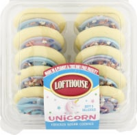 Lofthouse Celebration Unicorn Frosted Sugar Cookies