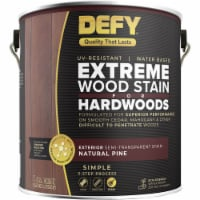 DEFY Deck Stain for Hardwoods Natural Pine gal - 1 gallon each