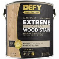 DEFY Extreme Wood Stain Crystal Clear gal - 1 gallon each