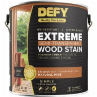 DEFY Extreme Wood Stain Natural Pine gal - 1 gallon each